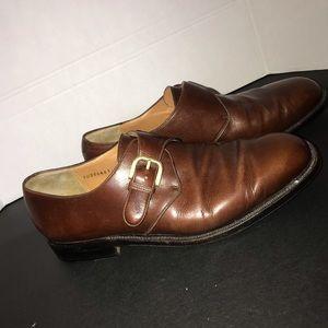 Salvatore Ferragamo Brown Leather mens loafers